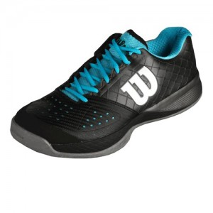 Wilson - Rush Pro Glide Comp All Court Férfi Teniszcipő fekete/szürke/kék