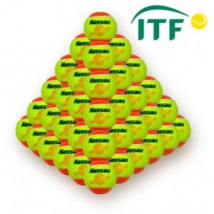 Nassau - Teniszlabda NASSAU COOL-Stage 2 narancssárga (60db.)