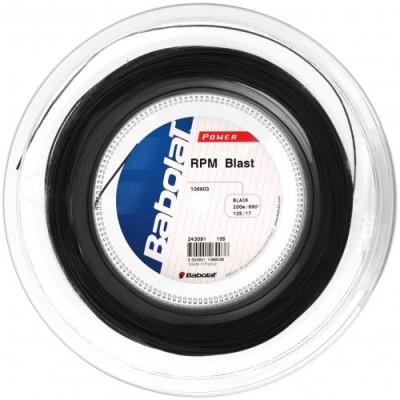 Babolat - RPM Blast Teniszhúr 200m Tekercs Fekete