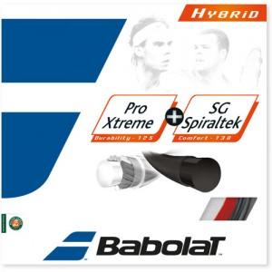 Babolat-Pro Xtreme + SG Spiraltek Hybrid 12m Piros/Fekete