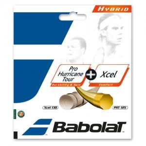 Babolat-Pro Hurricane Tour + Xcel Sárga/Natúr