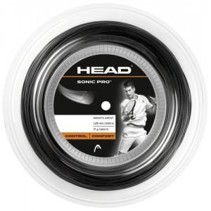 Head - Sonic Pro Tennis String Teniszhúr 200m fekete