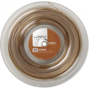 Luxilon-Teniszhúr Element 200m bronze