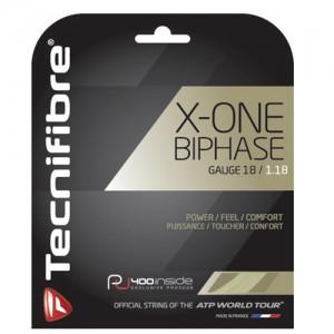 Tecnifibre - X-One Biphase Teniszhúr 12m/plik natúr