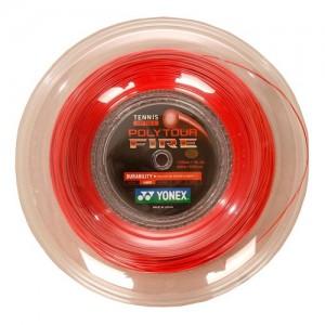 Yonex - Poly Tour Fire Tenisz Húr 200 m piros