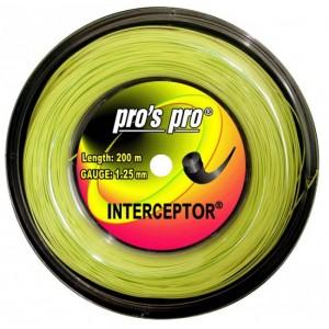 Pro's Pro - Interceptor Teniszhúr neon zöld 200m