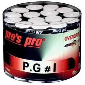 Pro's Pro P.G 1 - Overgrip Perforált 60 Db/Doboz Fehér