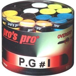 Pros Pro P.G. 1 - Overgrip Perforált Doboz 60 Darab Multicolor