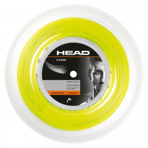HEAD - Lynx Teniszhúr 200m neon sárga