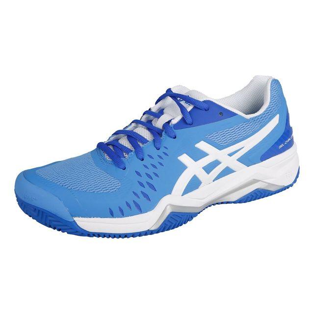 a9ac26c523 Asics - Gel-Challenger 12 Clay Női Teniszcipő Kék/Ezüstszínű/Fehér .