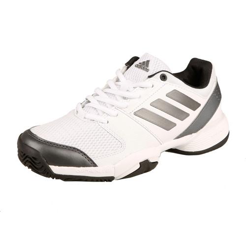 d42fdfb109b5 adidas - Barricade Club All Court Gyerek Teniszcipő fehér/szürke/fekete